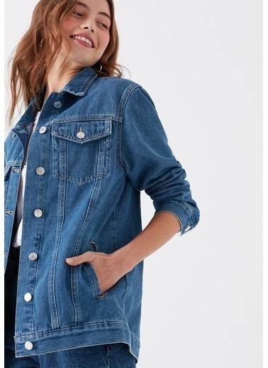 Mavi Jean Ceket | Jill - Boyfriend Mavi